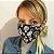 Máscara de Tecido 3d Caveira Mexicana - Modelo Tarja - Imagem 2