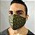 Máscara de Tecido Bico de Pato Arabesco Dourado - Modelo CT  - Imagem 3