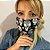Máscara de Tecido Dupla Face Caveira Mexicana - Imagem 2