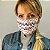 Mascara de Tecido Dupla Face Estampada Chevron - Imagem 2