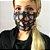 Mascara de Tecido Dupla Face Preto com Balões - Imagem 2