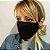 KIT de 5 Máscaras de Tecido 3D Preto  - Imagem 2