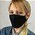 Máscara 3D Preta - Tripla Camada - Imagem 2