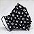 Máscara 3D Preta de Patulas - Tripla Camada  - Imagem 1