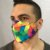 Máscara 3D Coloridassa - Tripla Camada - Imagem 3