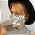 Máscara 3D Bandana Branca - Tripla Camada - Imagem 2