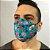 Máscara de Tecido 3D Caveira Mexicana - Tripla Camada - Imagem 3