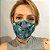 Máscara de Tecido 3D Caveira Mexicana - Tripla Camada - Imagem 2
