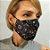 Máscara 3D Caveira e Mandala - Tripla Camada - Imagem 3
