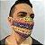 Máscara 3D Triângulo Étnico - Tripla Camada - Imagem 3