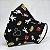 Máscara 3D Preta do Mickey 2 - Tripla Camada - Imagem 1