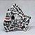 Máscara 3D Snoopy Grafite Urbano - Tripla Camada - Imagem 1