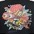 Camiseta Santa Cruz Juvenil Skate Brain Preto Tam 12 - Imagem 2