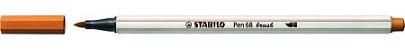CANETA BRUSH MARROM CLARO STABILO - Imagem 1