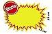 PLACA OFERTA PEQUENA SPLASH OFERTA 12X19 UN RAD 4954  - Imagem 1
