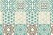 CONTACT AZULEJO DUBAI 15CMX15CM BLISTER - Imagem 1