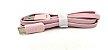 CABO USB V8 1 MT KAIDI KD-56S ROSA  - Imagem 1