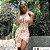 Vestido Midi Estampado Floral - Imagem 2