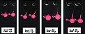 Jig Head Pink com 02 Unidades - Juva Pesca - Imagem 3