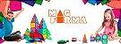 Brinquedo Educativo Magnético Mag Forma Maleta Vazado 62 Pç - Imagem 5