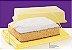 Tupperware Big Cake Retangular Amarelo - Imagem 1
