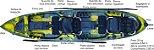 Caiaque CAIACKER - NEW FOCA FISHING- 2 PESSOAS - Imagem 2