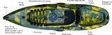 Caiaque CAIACKER - NEW FOCA FISHING- 2 PESSOAS - Imagem 1