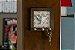Porta-chaves Espírito Santo. Cor Rosa, em Madeira, MDF, resina. Medida 11x11 cm - Imagem 3