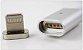 CABO CARREGADOR 3 EM1 CELULAR MAGNETICO LIGHTNING –TIPO C+IPHONE+MICRO USB - Imagem 4