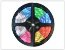 FITA LED RGB 3528 300 LEDS DUPLA FACE 5 METROS COLORIDO+CONTROLE+FONTE - Imagem 1