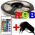 FITA LED RGB COLORIDA 5050 5 METRO 16 CORES  + CONTROLE - Imagem 2