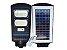 LUMINÁRIA POSTE SOLAR LED 60W COMPLETA COM CONTROLE - Imagem 1