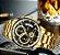 Relógio Dourado Nibossi - Imagem 2