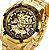 Relógio Dourado Winner Forsining - Imagem 2