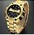 Relógio Dourado Golden Hour Rico - Imagem 1