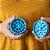 Dichavador Buya! 4 Partes Grande (63mm) - Cerâmica - Azul - Imagem 3