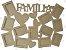Quadro de Fotos Família em MDF - Imagem 1