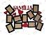 Quadro de Fotos Família em MDF - Imagem 2
