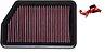 Filtro de Ar K&N Hyundai I30 2013+ 1.6 e 1.8 / Sportage 2011+ / Cerato 1.6 2014 + REF. 33-2451 - Imagem 1