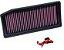 FILTRO K&N INBOX - RENAULT SANDERO RS 2.0 e GT 1.6 8v | DUSTER OROCH - REF.33-3007 - Imagem 2