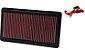 FILTRO K&N INBOX - HONDA CIVIC SI 2.0 - REF. 33-2343 - Imagem 1