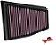 Filtro Ar K&N INBOX  Audi Rs4 Rs5 4.2 | 2010 A 2015 LADO ESQUERDO | REF. 33-3031 - Imagem 1