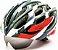Capacete Bike Apollo Tam: M C/ Óculos Embutido Viseira Diurna E Noturna Cor Preto/Vmo/Cinza - Imagem 1