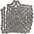 CORRENTE SRAM PC-1110 114 ELOS SOLID PIN 11v - Imagem 3