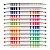 Canetinha Hidrográfica FABER-CASTELL Bicolor - 12 Unidades/24 Cores - Imagem 3