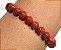Pulseira elástico Jaspe Vermelho grande - Signo de Touro - Imagem 5