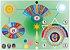 Mesa Radiônica Espiritual Quântica impressão colorida em PVC medindo 30 cm X 20 cm. (O produto não acompanha manual de uso, necessário fazer curso e iniciação para usar). - Imagem 1