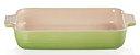 Travessa Retangular Classic 32cm Verde Palm- Lê Creuset - Imagem 2
