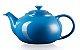 Bule de Cerâmica 1,3 L  Azul Marseille- Lê Creuset - Imagem 1
