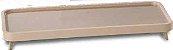 Aparador de Acrílico e Madeira Nude-32X04X16 cm - Imagem 1